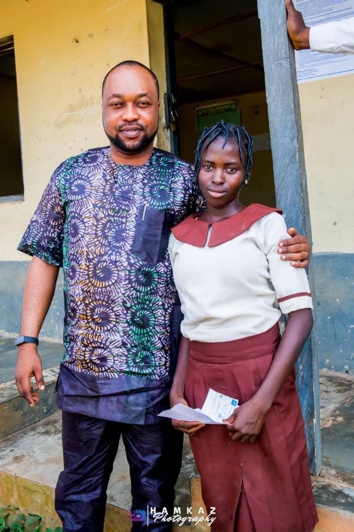Osun legislator adopts poor student for full scholarship