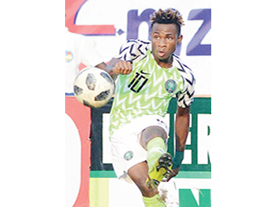 Super Eagles vS Desert Foxes: Chukwueze: another chance to da zzle