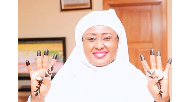 Rape: Aisha Buhari wants stakeholders to step up fight