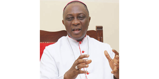 Archbishop Martins: Don't underrate dangers of environmental degradation