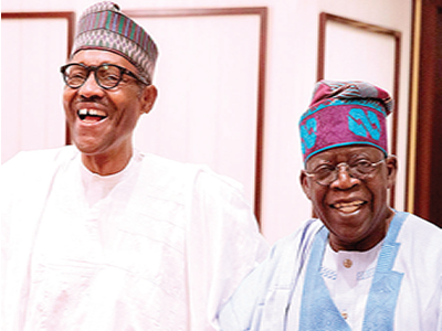 Tinubu takes full charge of my campaign –Buhari