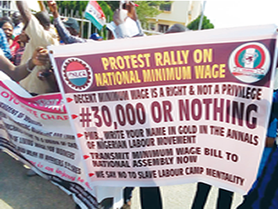New wage: Ominous signs as crisis deepens