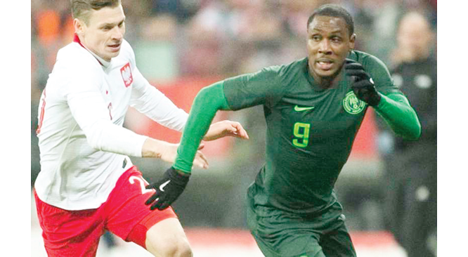 Ighalo announces retirement from Super Eagles duty