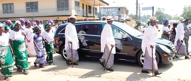 Burial rites: Igbo's tenacious hold on tradition