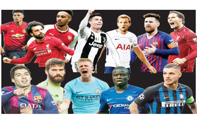 Europe's most valuable football players