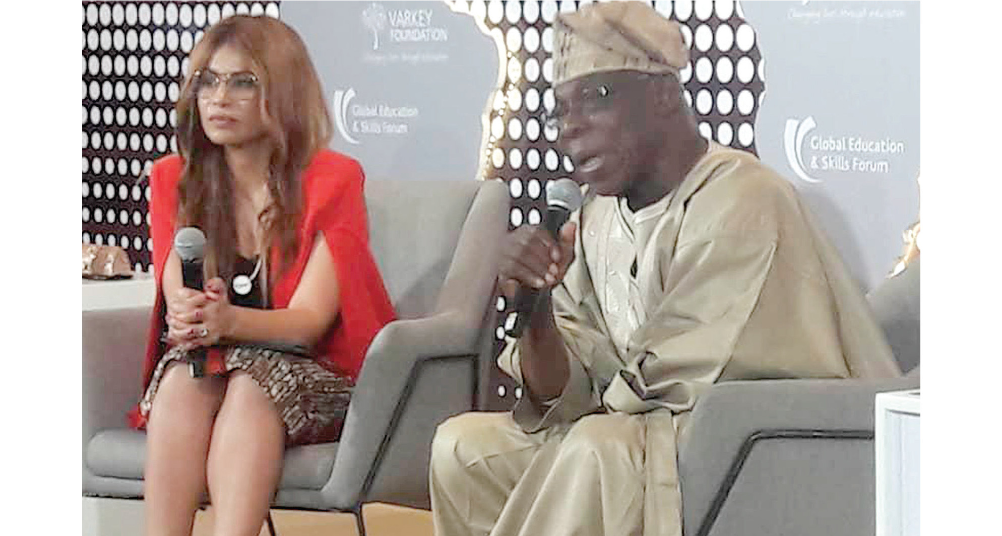 Obasanjo: Africa'll be sitting on a keg of gun powder if…
