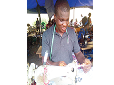 Our lives as tailors who mend 'corpers' uniforms in camp