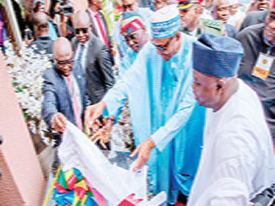 Ambode's legacy projects and Buhari's commendation