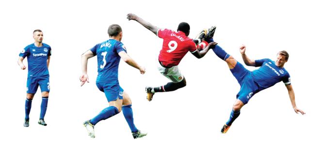 Battered United seek redemption at Everton