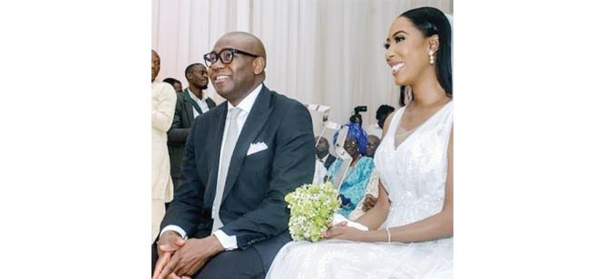 Funke Fowler weds Aig Imokhuede
