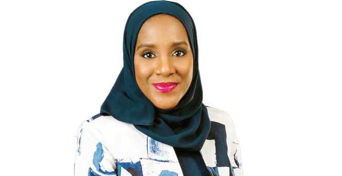 Halima Dangote becomes toast of the moment