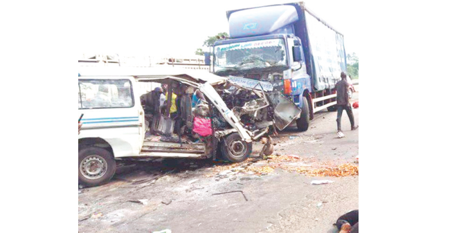 Husband, wife, others die in Abuja auto crash