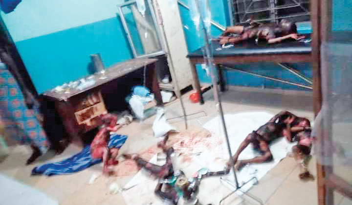 Five die as jilted man sets lover's house ablaze