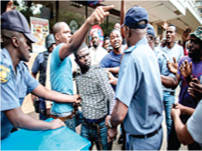 XENOPHOBIC ATTACKS: NIGERIANS IN THE HANDS OF FOREIGN POLICE