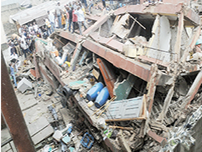 Four killed, others trapped as building collapses in Delta