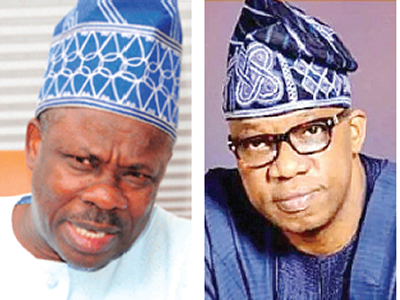 Ogun: Amosun, Abiodun in last-minute battle