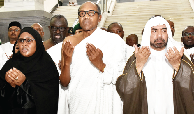 Buhari performs Umrah rites in Saudi Arabia