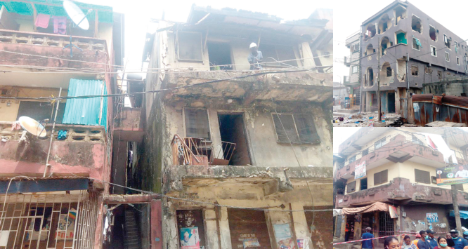 Building collapse: Unending recommendations without action