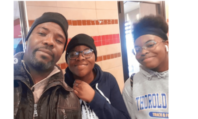 Okey Bakassi celebrates as daughter bags gold medals in Canada