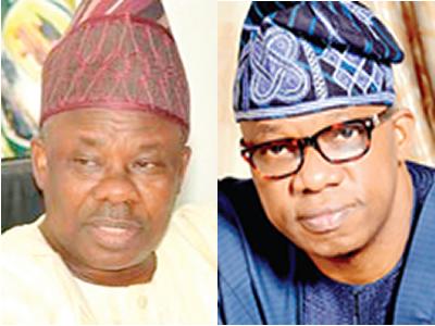Amosun, Abiodun trade words over arms scandal