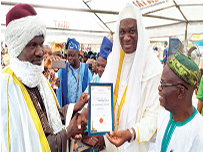Sheik Aduralongba turbaned as first Mufti of Bode Olude