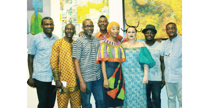 For Moremi Ajasoro, A View from the Masters art exhibition opens