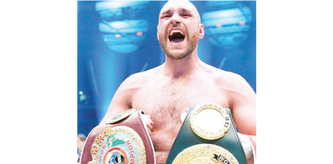 Tyson Fury: I'll fight Joshua in England soon