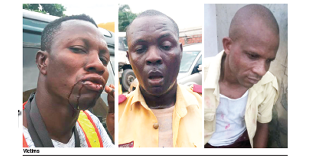 LASTMA OFFICIAL:  Attack on our personnel by 7up workers will show it's no longer business as usual