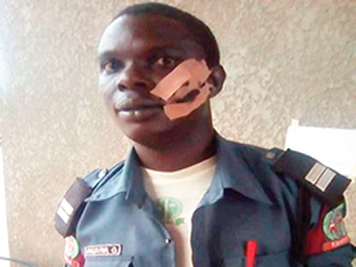 Outrage as lawmaker slaps traffic officer for arresting wife