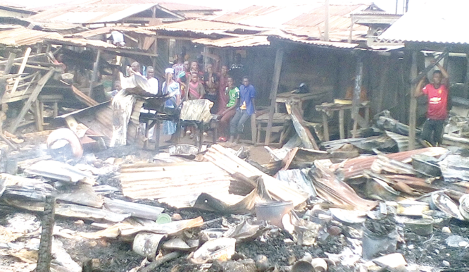 Seeking intervention over N200m market inferno
