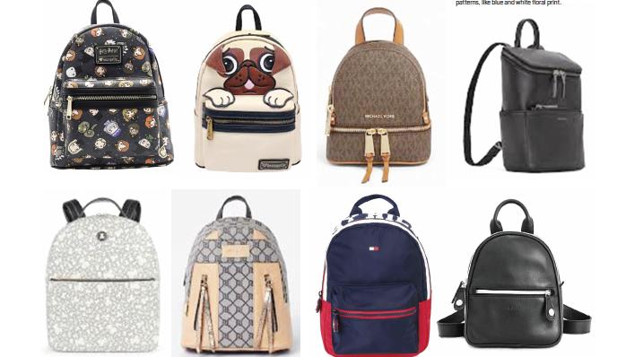 The trending mini backpack