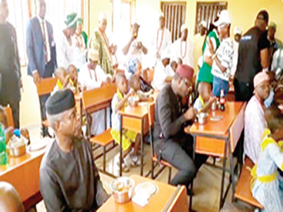 Ekiti rekindles pupils' hope with school feeding programme