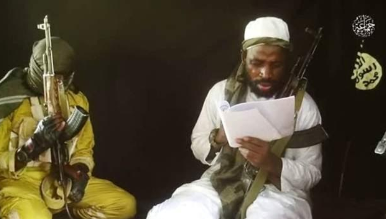 Boko Haram leader, Shekau, struggles to read in latest video