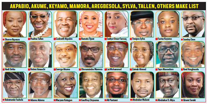Buhari appoints nine ex-govs, 14 ex-ministers into cabinet