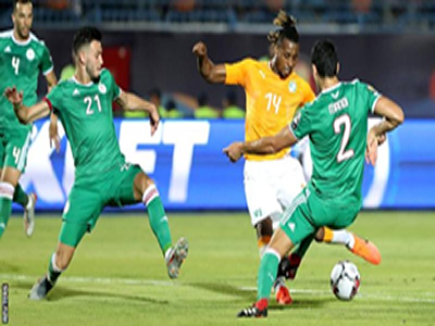 It's Nigeria, Algeria semis