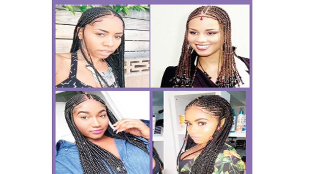 Fierce in Fulani braids