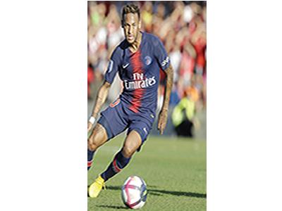 PSG, Inter cl ash puts Ne ymar on spotlight