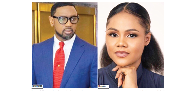 Court dismisses Busola Dakolo's rape suit against Fatoyinbo