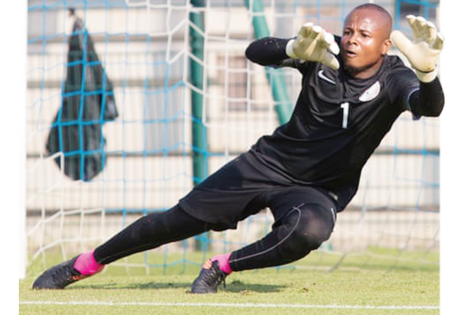 Ezenwa returns to home-based Eagles, ready for Togo
