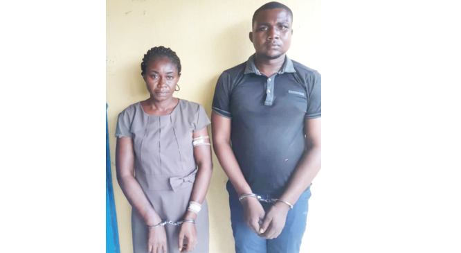 Woman paid us N50,000, showed us where to bury hubby after inviting us to beat him up –Suspect