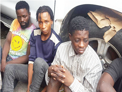 I work with LAWMA, but rob at night, says suspect