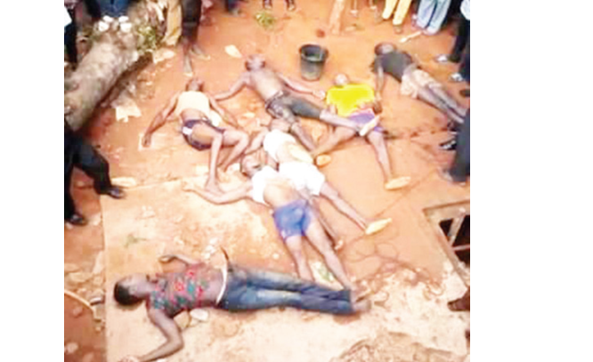 Enugu: Eight workers trapped in septic tank, die