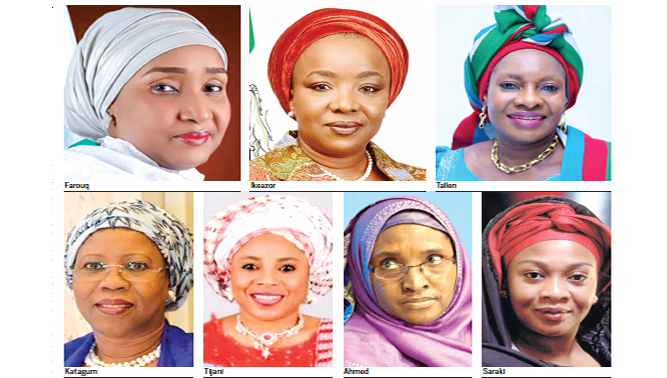 The women on Buhari's ministerial list