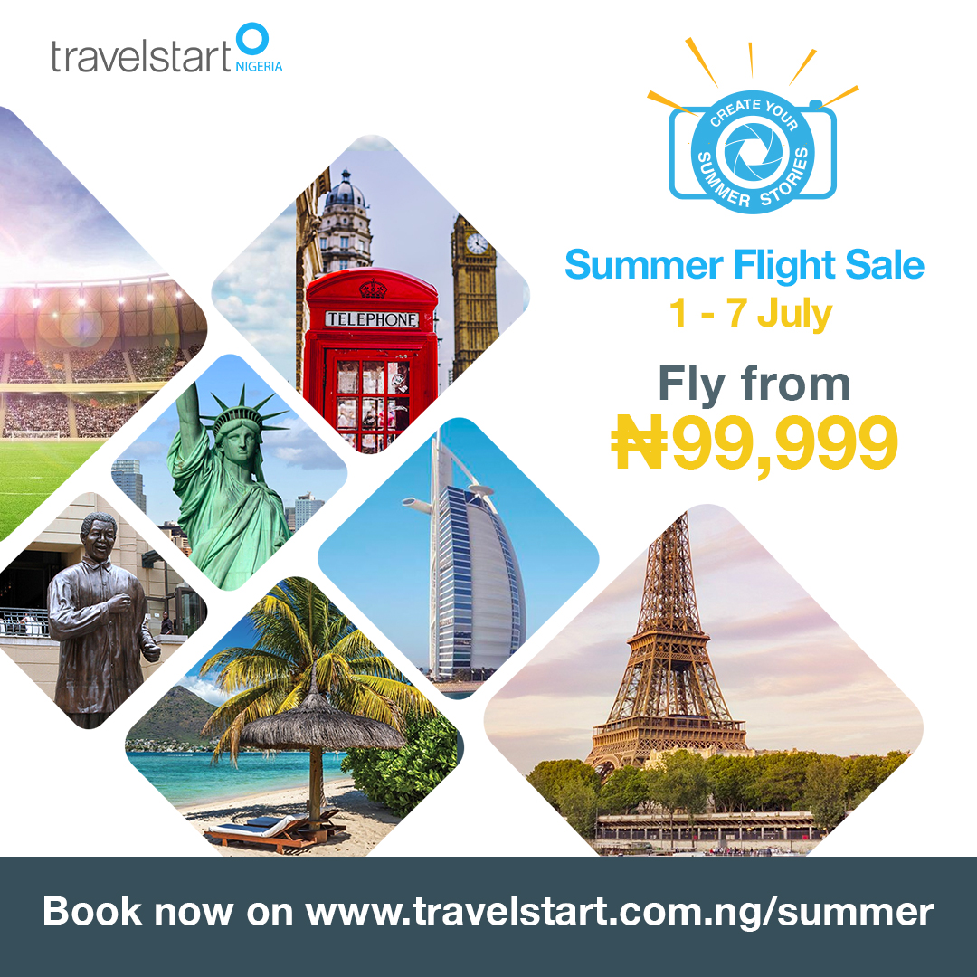 Travelstart Launches Third Annual Summer Flight Sale Promo
