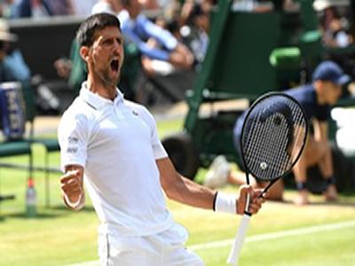 Djokovic battles into Wimbledon final