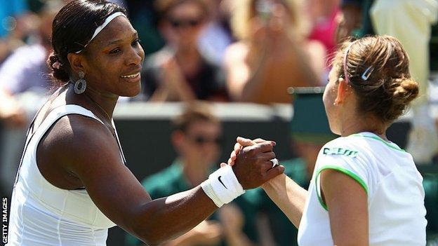 Halep stuns Serena to win Wimbledon