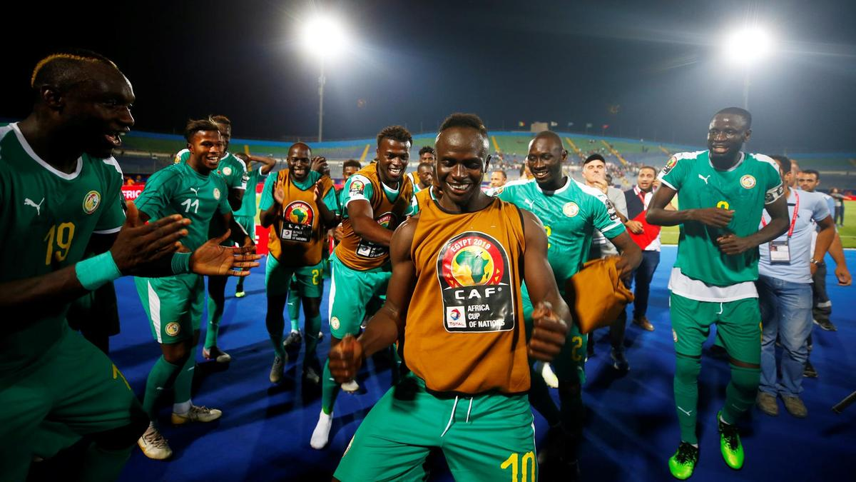 Salah, Mane clash in AFCON final