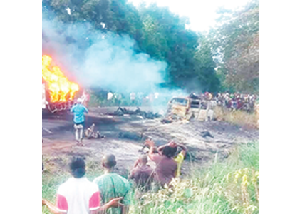 50 die in Benue fuel tanker explosion