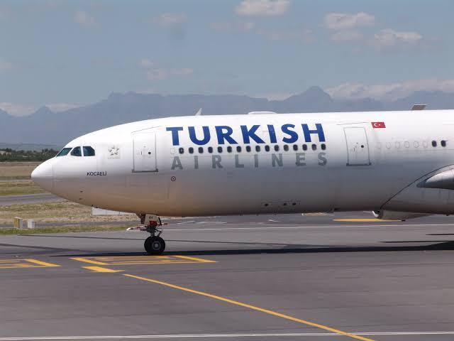 Turkish Airways plane closes Lagos International airport runway