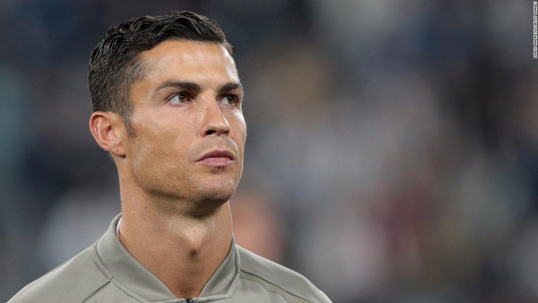 Ronaldo breaks silence about rape allegations against him by model